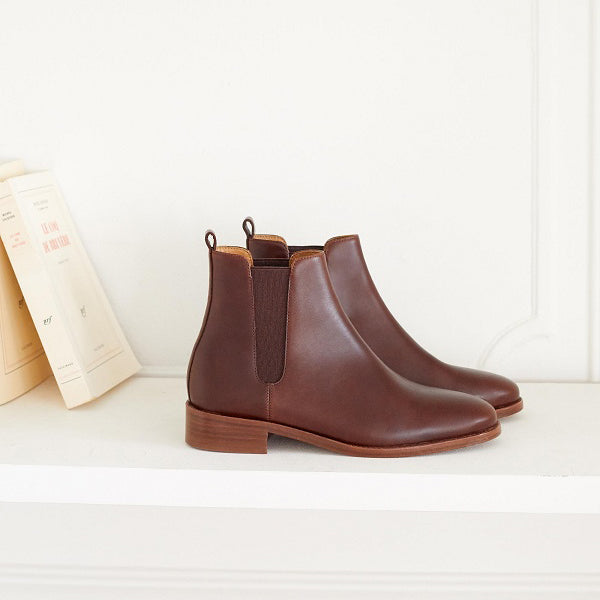 Casual Simple Low-Top Women's Boots