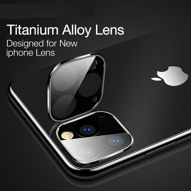 2PCS Rear Lens Protective Ring For iPhone 11 pro max