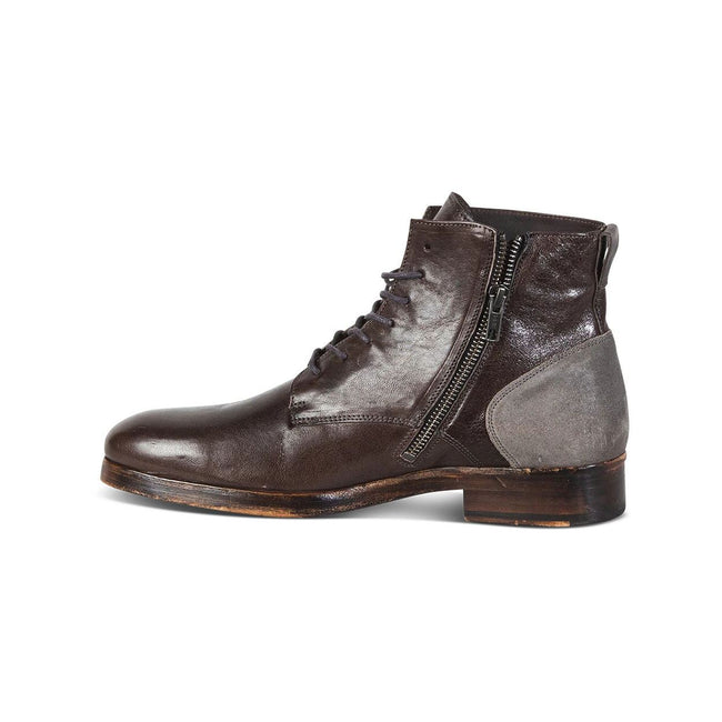 Retro Lace-up Low Heel Men's  Martin Boots