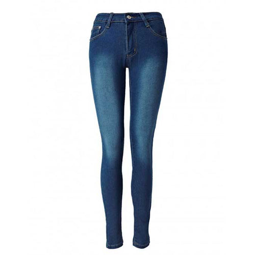 Hot Selling Performance High Waisted Pencil Jeans