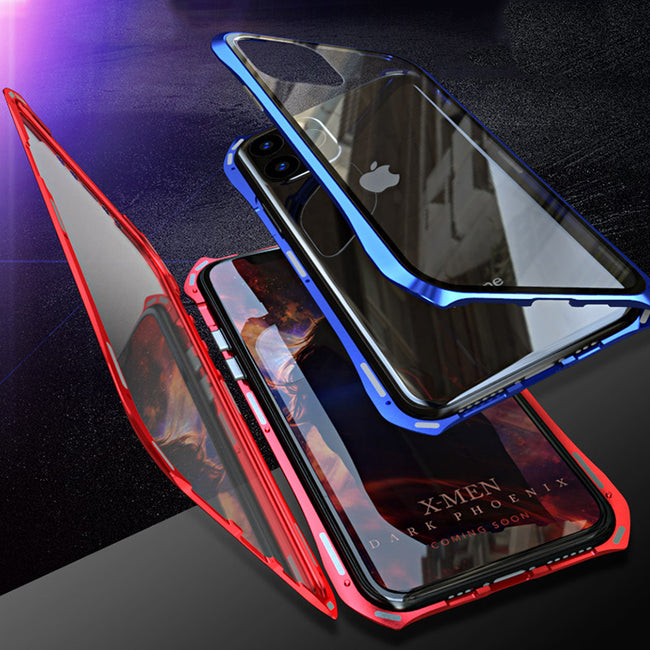 Metal Bumper Doub Sided Tempered Glass  iPhone 11 XI