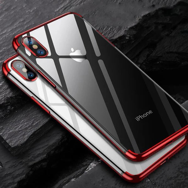Luxury 6 Colors Plating Soft Protective Case For iPhone X XR XS Max