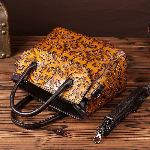 New Printed Vintage Ladies Shoulder  Bag