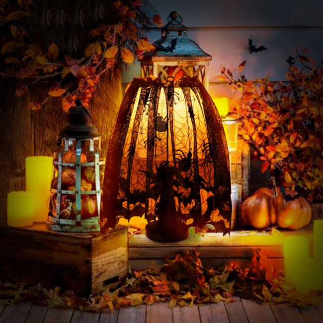 Halloween Decoration Lace Lamp Shade  Curtain Festive Party Supplies