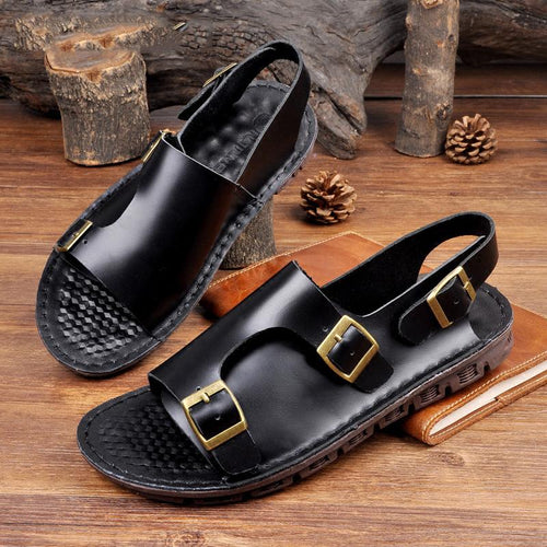 Men's Luxury Soft Sole Beach Casual Sandals