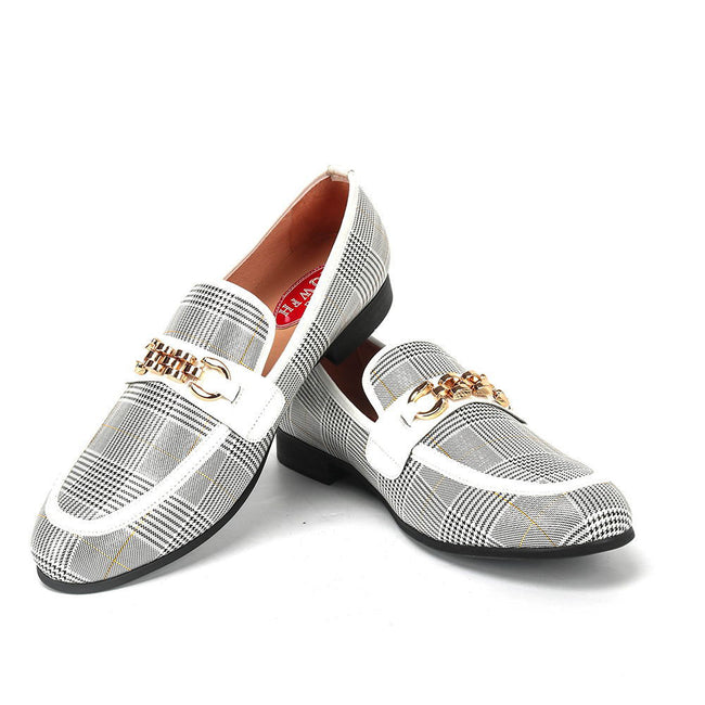 Handmade Loafers Comfortable Breathable Men Dress Shoes