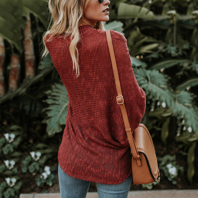 Refreshing Full Sleeve Comfort Knit Pullover Sweater