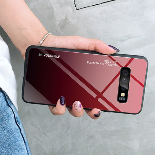 Color Case For Samsung Galaxy S10 S10e A9 Plus