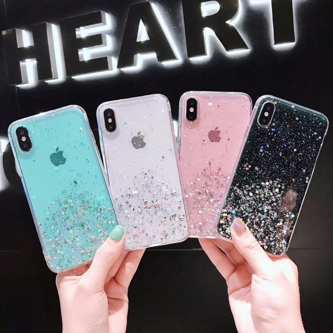 Glitter Bling Sequins Case For iphone 11 11Pro Max 8 7 Plus 6S X XS Max XR