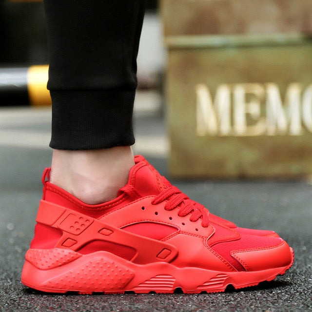 New Mesh Men  Lac-up  Comfortable Breathable Sneakers