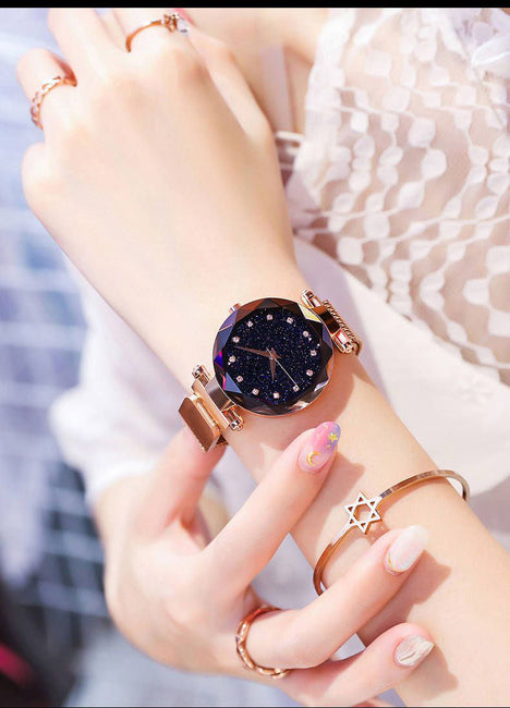 Luxury Brand Crystal Fashion Ladies Wrist Watches