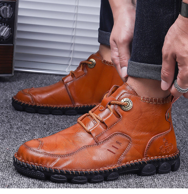 New Classic Genuine Leather Men Shoes