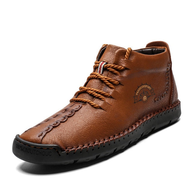 HighTop Outdoor Warm Walking Men's Ankle Boots