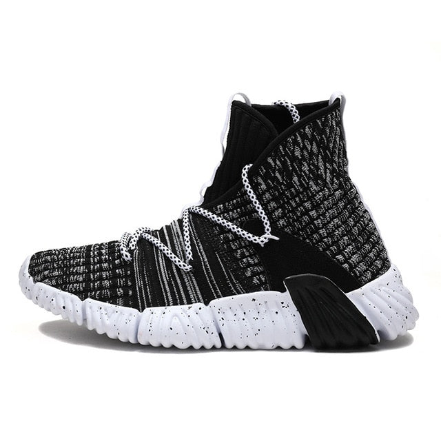 Knit Breathable Walking Men's Sneakers