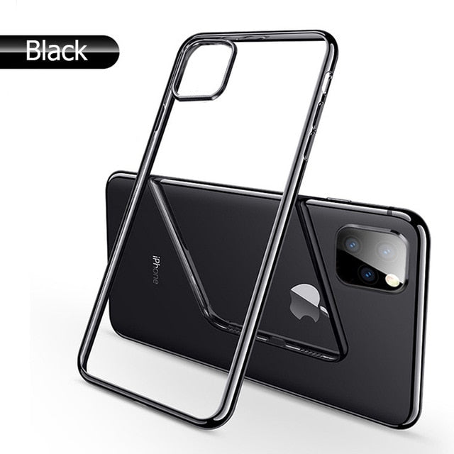 For iPhone 11 Pro Max Plus 2019 Bright Crystal Phone Case