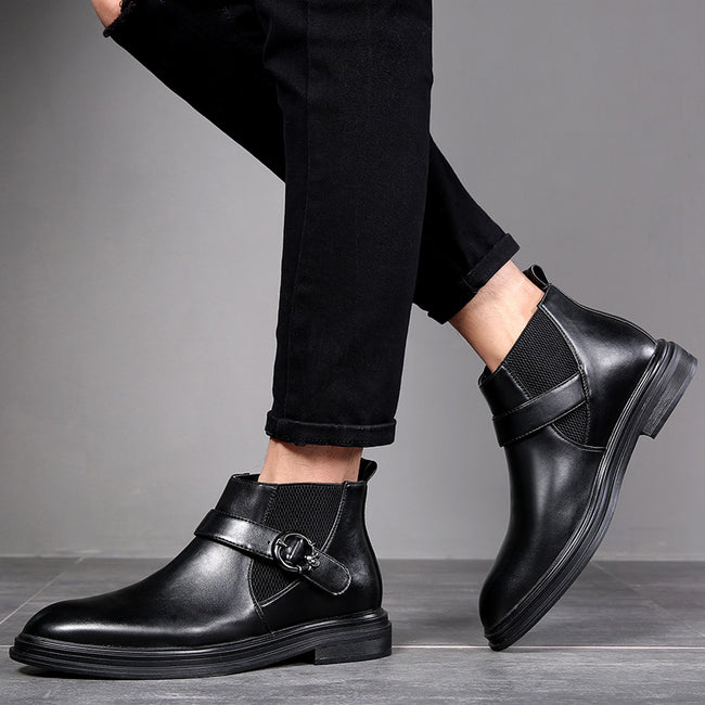 Chelsea Formal Ankle Pointed Toe Boots