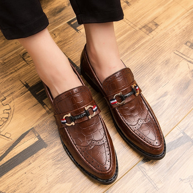 Italy Business Luxury  Fashion Casual Men's Dress Shoes