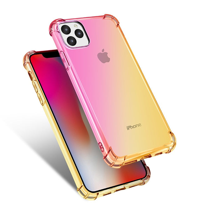 Gradient Clear Cover For iPhone 11 Pro Max