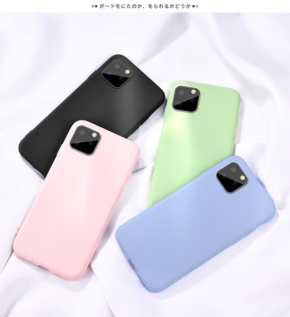 For Apple iPhone 11 Pro Max Case Liquid Silicone Rubber Soft Shockproof Cover