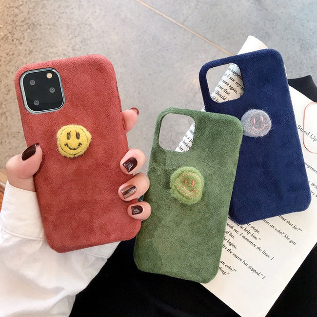 Fashion Deer Cloth Fabric For iPhone 7/8 X Xr Xs 11 Case