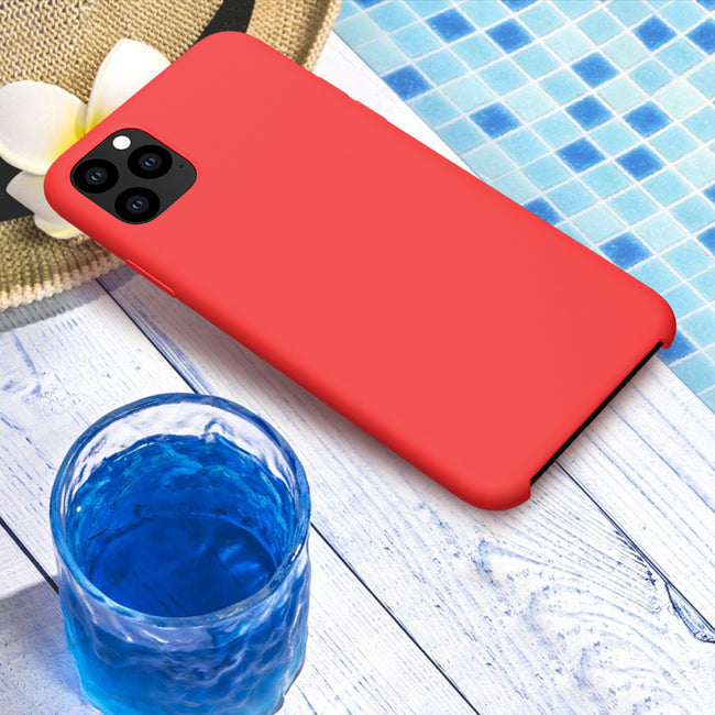Soft Case For iPhone 11 Pro Smooth Rubber Back Cover