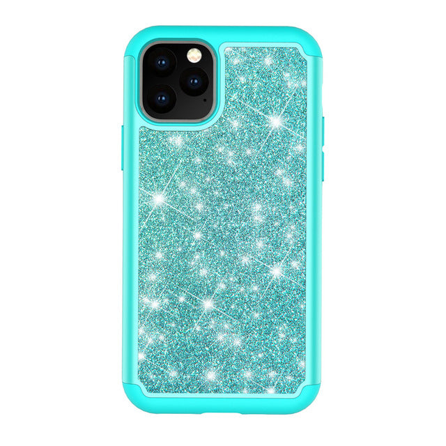 For iPhone 11 2019  Shining Anti-knock Phone Case