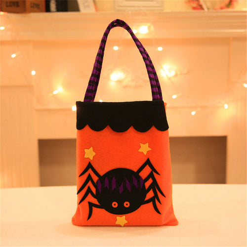 1Pc Halloween Applique Handbag