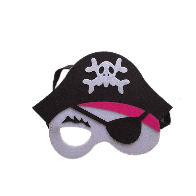 Skull Pattern Baby girl halloween Pirate costume