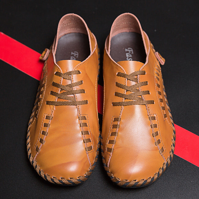Handmade Genuine Leather Comfortable Mens Shoes