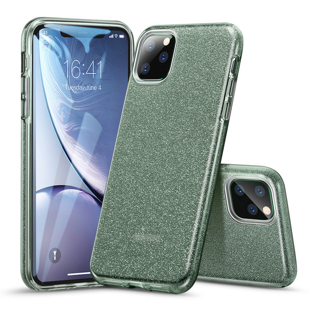 Luxury Shining Protective Back Cover for iPhone 11 Pro Coque