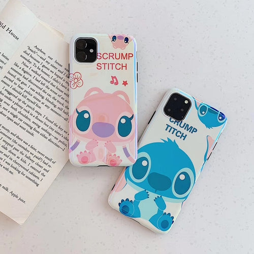 Cartoon Blue Ray Soft TPU Phone Cover For iphone XI XIR XIA MAX