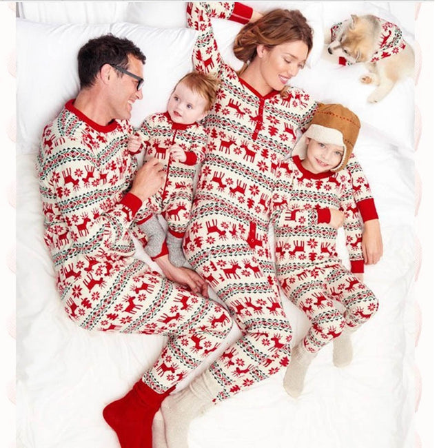 Family Christmas  Santa Claus Pajamas Set