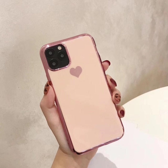 Luxury Anti-Shock Hard Cover Fundas Capa For iphone 11 Pro Max