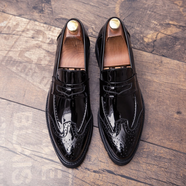 Bullock Luxury  Business Leather Shoes Men's Formal Shoes