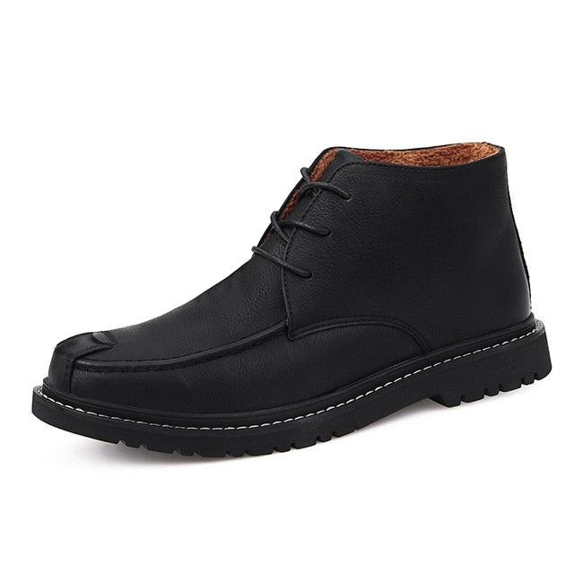 Outdoor Luxury Leather Comfortable Men's Chelsea Boots