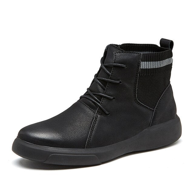 Fashion Trend Genuine Leather Men Boots