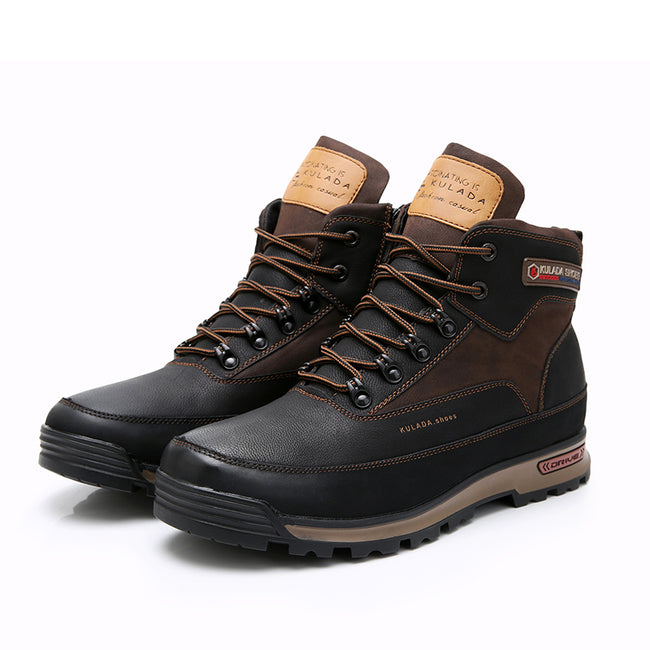Fashion Lace Up High Men Boots