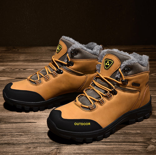New Men Comfortable Martin Safety Boots