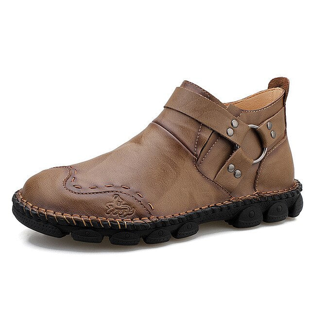 Fahion Comfortable Cow Leather Men Boots