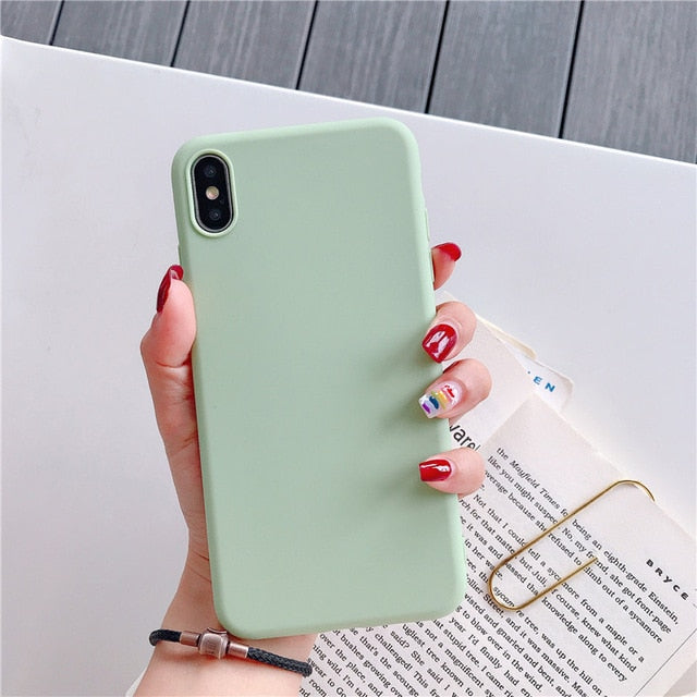 Candy Color Case For Samsung Galaxy A70 A80 S8 S9 S10 Plus S10e A8 A9