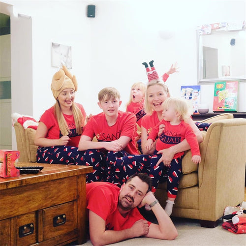 Christmas Matching Family Outfits New Year Pajamas