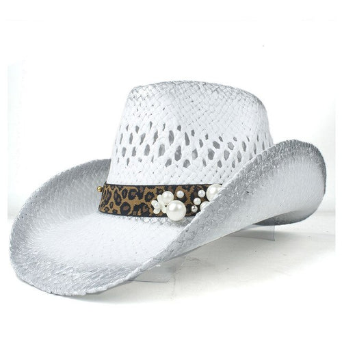 2019 100% Straw Women Western Cowboy Hat Roll Up Brim Hat Outdoor Sombrero Hombre Cowgirl Hat