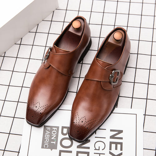 Italy Luxury Men Formal Leather Shoes