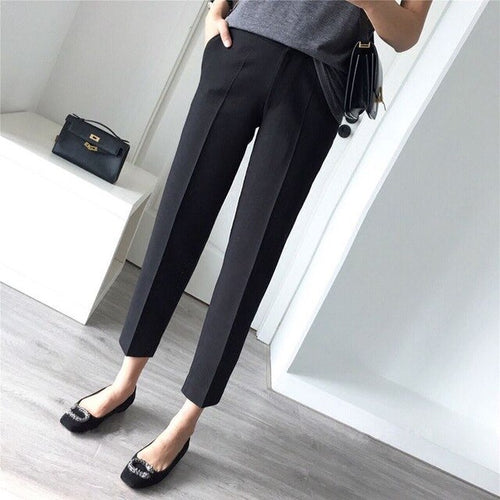 New Office High Waist Long Pants