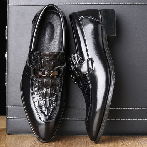 Luxury Designer Business Men Leather Shoes