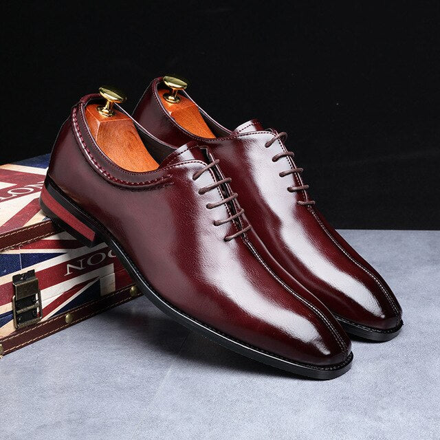 High Quality Lace Up Dress Shoes