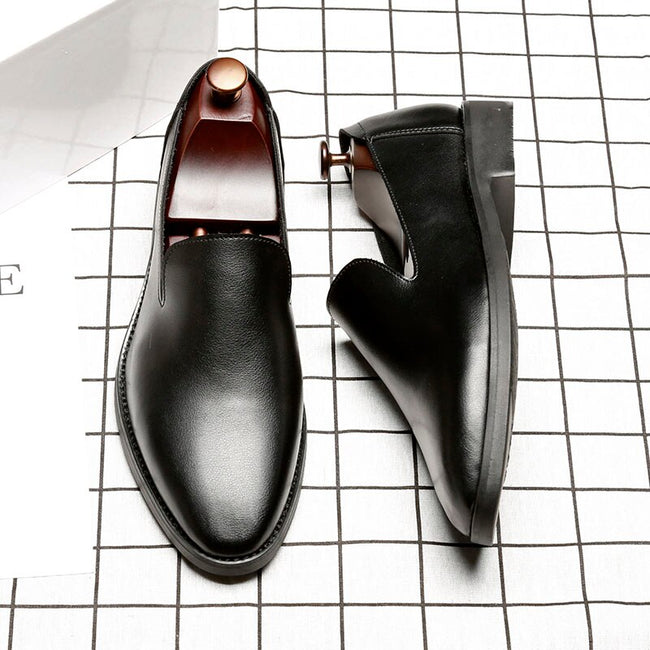 Luxury Wedding Leather Men's Formal  Shoes