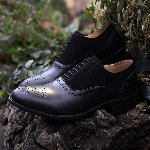 Handmade Dress Leather Oxfords Formal Shoes