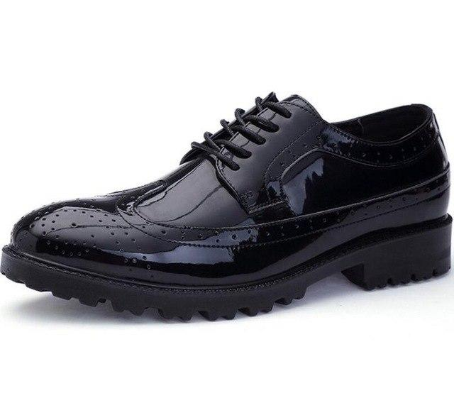 British Leather Lace Up Shoes