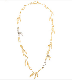 Mimosa Long Necklace